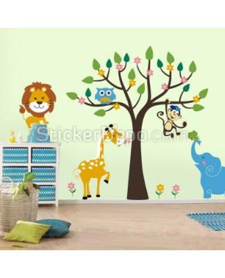 Çocuk ve Bebek Odası Duvar Sticker Modelleri