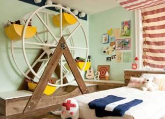 Çocuklar için Eğlenceli Çocuk Odası Dekorasyonu