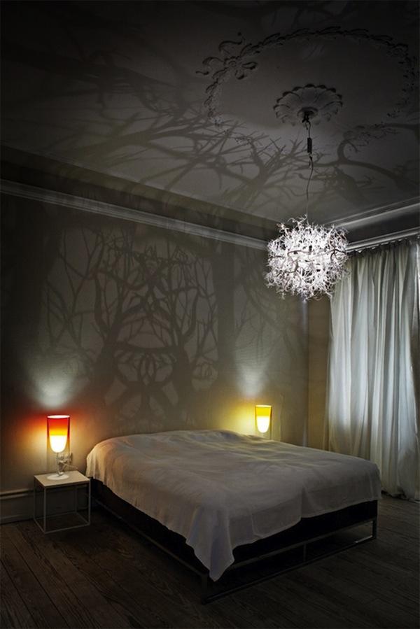 dekoratif yatak odasi avize modeli