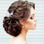 Düğün İçin Saç Modelleri