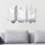 Duvardizayn Kelebek Dekoratif Ayna