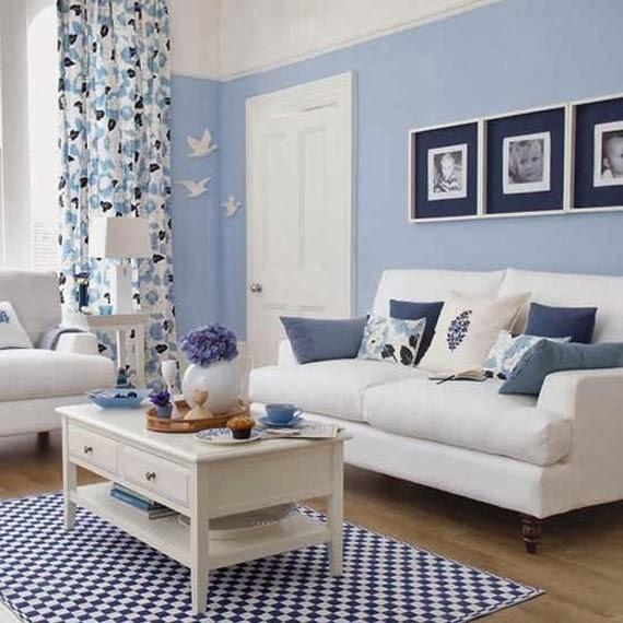 Gelin Oluyorum: Mavi renk ev dekorasyonu