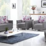 ipek mobilya gri koltuk takımı modeli