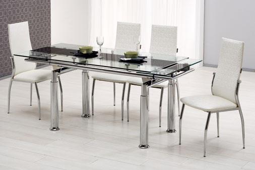 istikbal cam mutfak masası modelleri