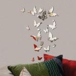 Kelebek Desenli Dekoratif Ayna