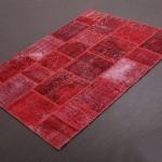 Kırmızı Renkli Patchwork Halı Modeli »
