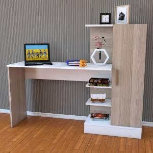 Kitaplıklı Çalışma Masası
