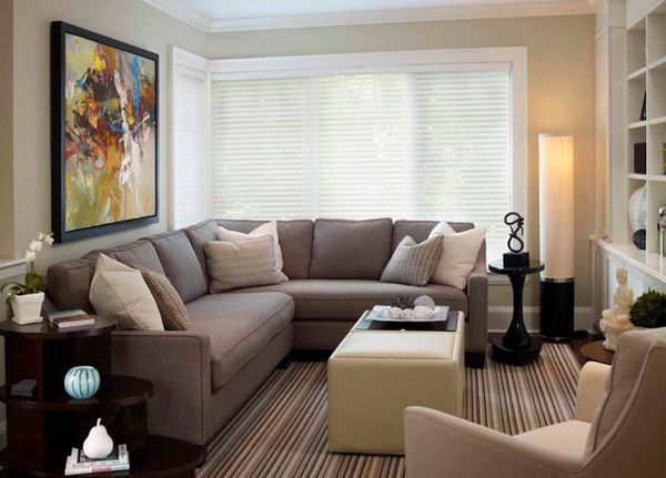Küçük Oturma Odaları İçin Dekorasyon