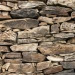 Kuru Yığma Taş Duvar Royalty Free Stok Fotoğraf, Resimler