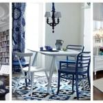 Mavi Beyaz Ev Dekorasyonu Fikirleri, Blue White Room Design