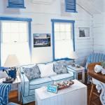 Mavi Ev Dekorasyon Fikirleri