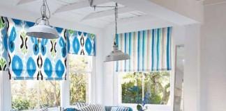 Mavi ve Beyaz Ev Dekorasyonu