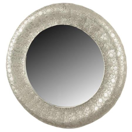 Mikasa Moor Gümüş Ferforje Yuvarlak Ayna 58 Cm