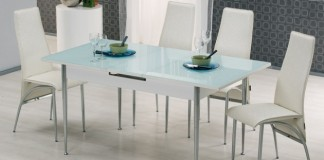 Mondi cam mutfak masası
