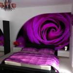 Mor Duvarlı Yatak Odası › Modelleri Fiyatları 2015
