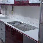Mutfak Tezgahı, Akrilik Mutfak Tezgah modelleri, Akrilik