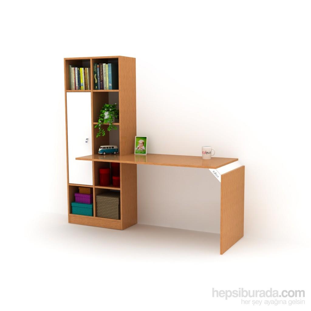 Opus 147 Kitaplıklı Çalışma Masası Fiyatı