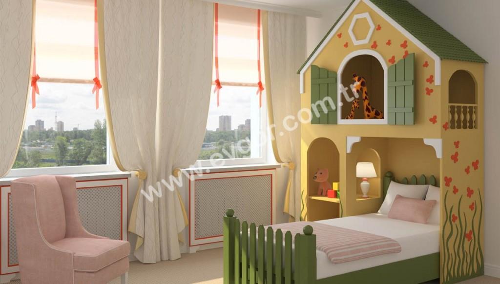 Özel Tasarım Genç ve Bebek Odası