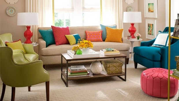 Renkli Ev Dekorasyonu Örnekleri
