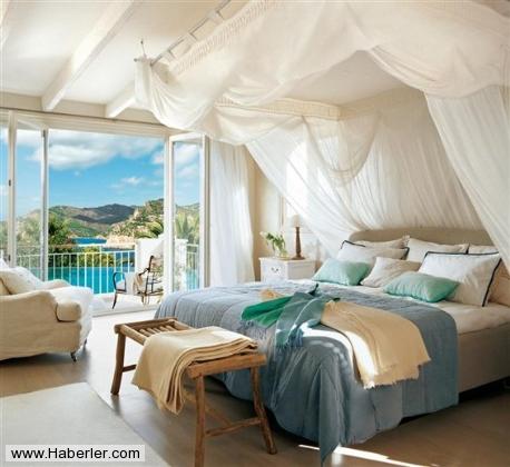 Romantik Yatak Odası Tasarımları ROMANTİK YATAK ODASI