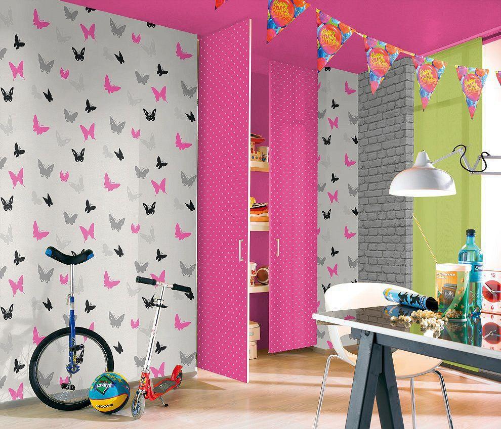 Son Moda Genç Odası Duvar Kağıdı Modelleri 2015