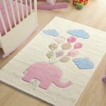 Sweet Elephant Balon ve Fil Desenli Çocuk ve Bebek Odası