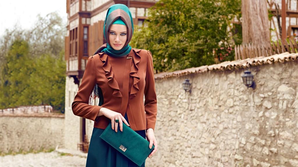 Tesettür Takım Elbise Modelleri 2015