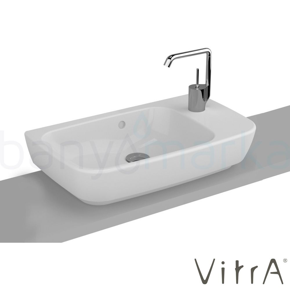 vitra shift lavabo 60 35 cm leylara her ey burada. Black Bedroom Furniture Sets. Home Design Ideas