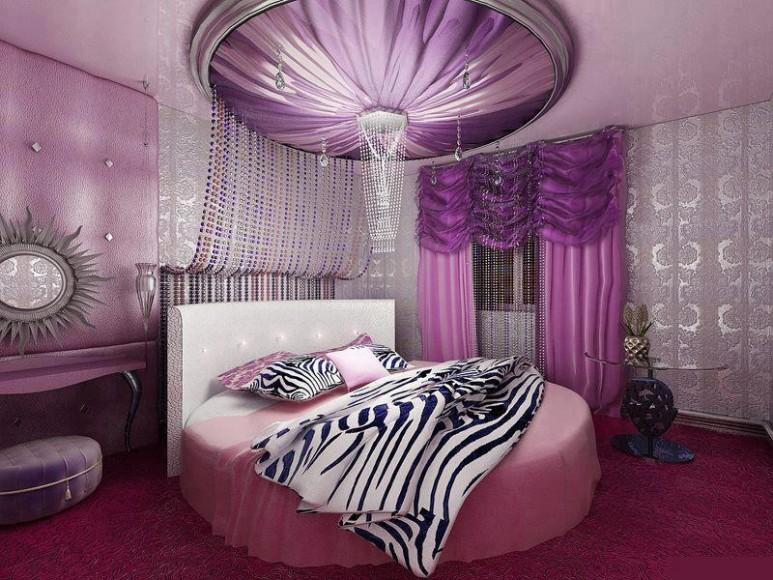yeni romantik yatak odası örnekleri 2016