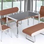 Yeni Sezon Mutfak Masası ve Sandalye Modelleri çeşitli renk