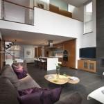 Yüksek Tavanlı Ev Dekorasyonu Örnekleri