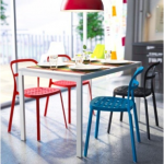 2014 ikea yemek masası ve sandalyeleri