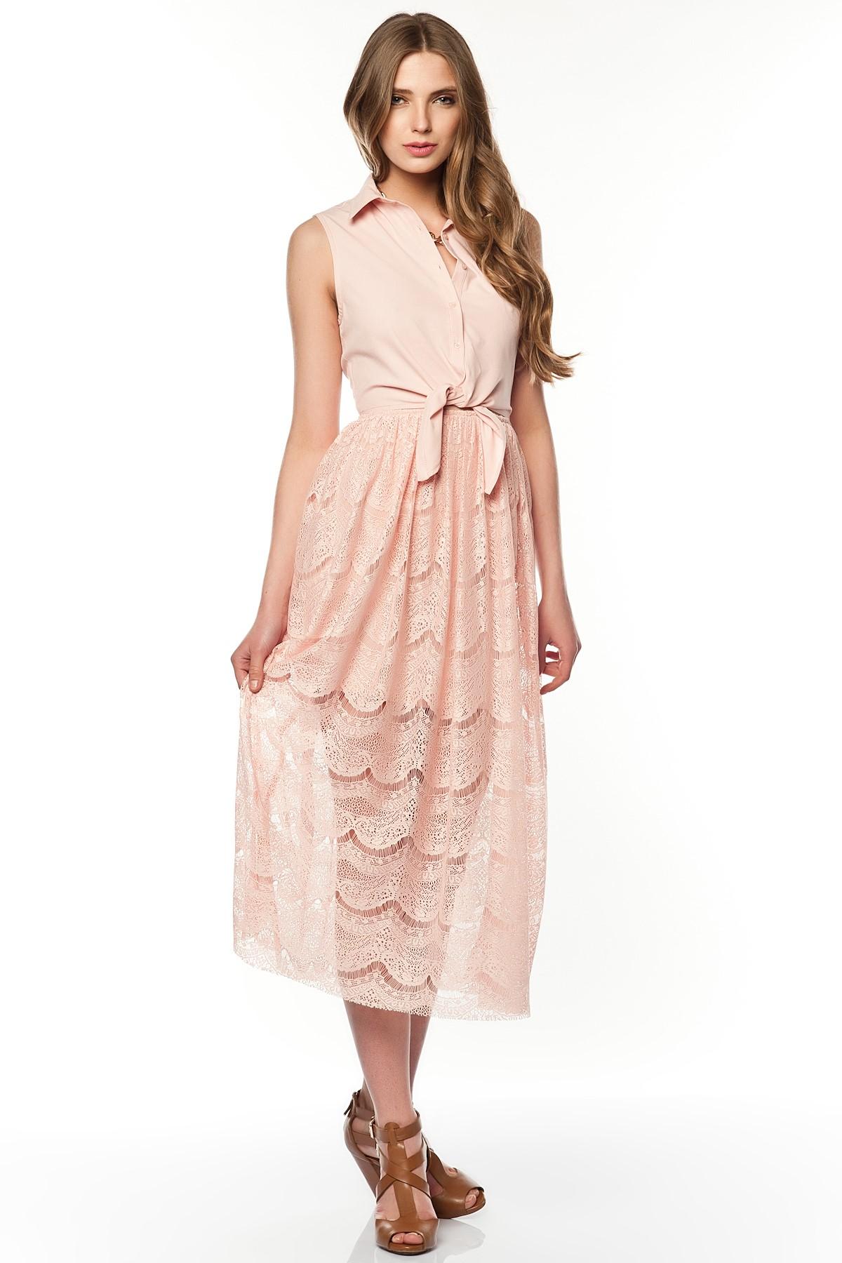 Koton marka Kadın üst Ten rengi renk 42 beden Hiç kullanilmamis, kısa kollu, yakadan fiyonklu kadın bluzu. Sense8 | Gardrops.