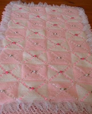 2016 Yeni Örgü Bebek Battaniye Modelleri