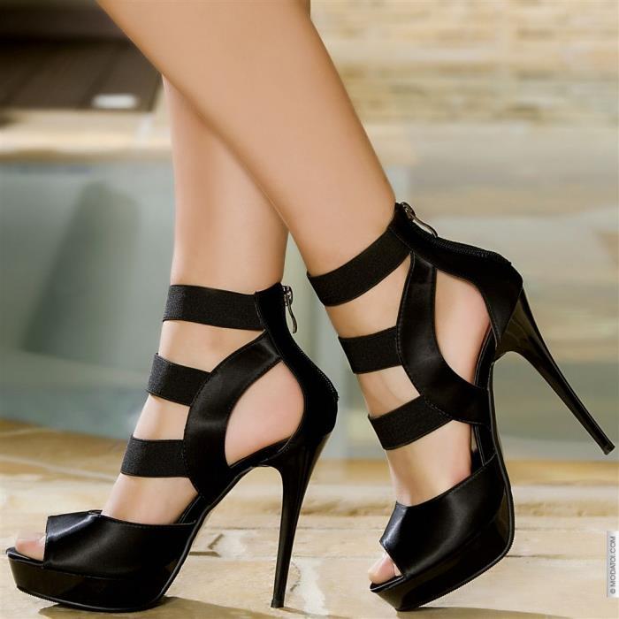 Abiye Topuklu Ayakkabı 2015