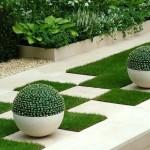 Bahçe Dizaynı ve Mobilya Modelleri salıncak sandalye hamak