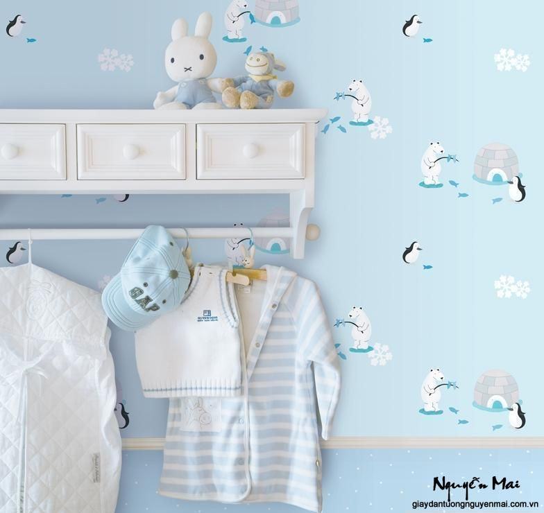 Bebek odası duvar kağıdı 2015