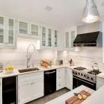 Beyaz Ankastre Mutfak Modelleri 2015