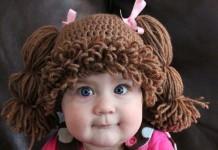 Çocuk ve bebek örgü şapka modelleri