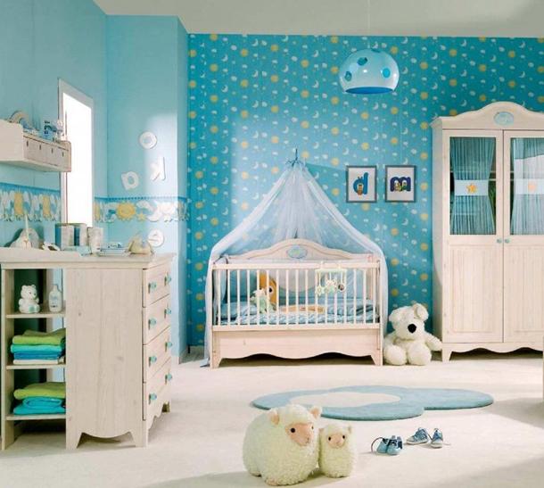 Erkek Bebek Odası Dizaynı