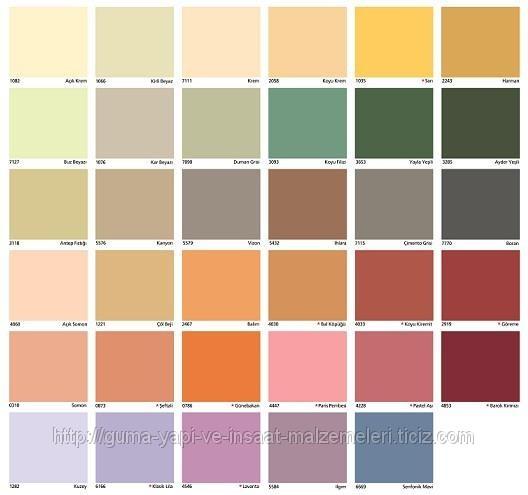 Filli boya iç ve dış cephe örnekleri (ID#545960), fiyatı