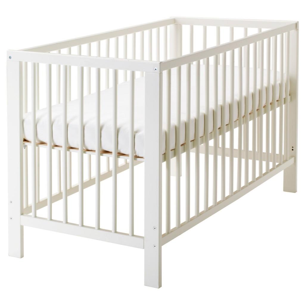 GULLIVER bebek karyolası, beyaz, 60x120 cm