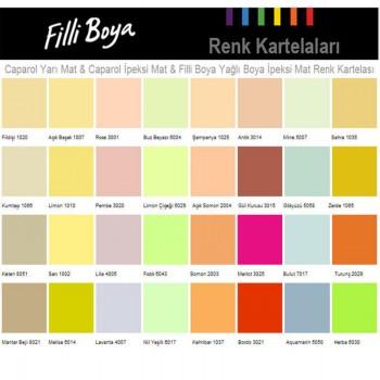 Harika Filli Boya Iç Cephe Renkleri Fotoğrafları