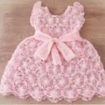 Harika Pembe Bebek Örgü Elbise – Örgü Delisiyim