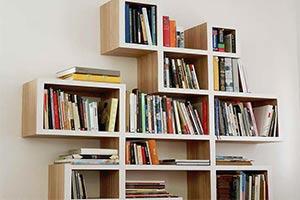Ikea police na knihy