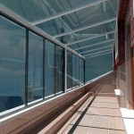 Katlanır Cam Balkon Dekorize Dekorasyon Malzemeleri