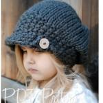 Kız Çocuklar için En Güzel Örgü Şapka Modelleri, 2015 Çocuk