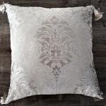 Modafabrik Gümüş Rengi Dekoratif Yastık Kılıfı