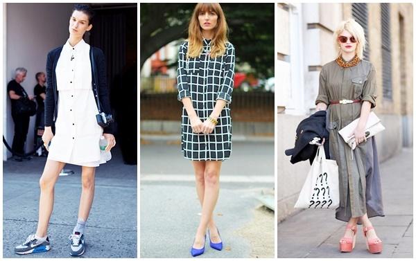 Modası Geldi: Gömlek Elbise / Shirt Dress