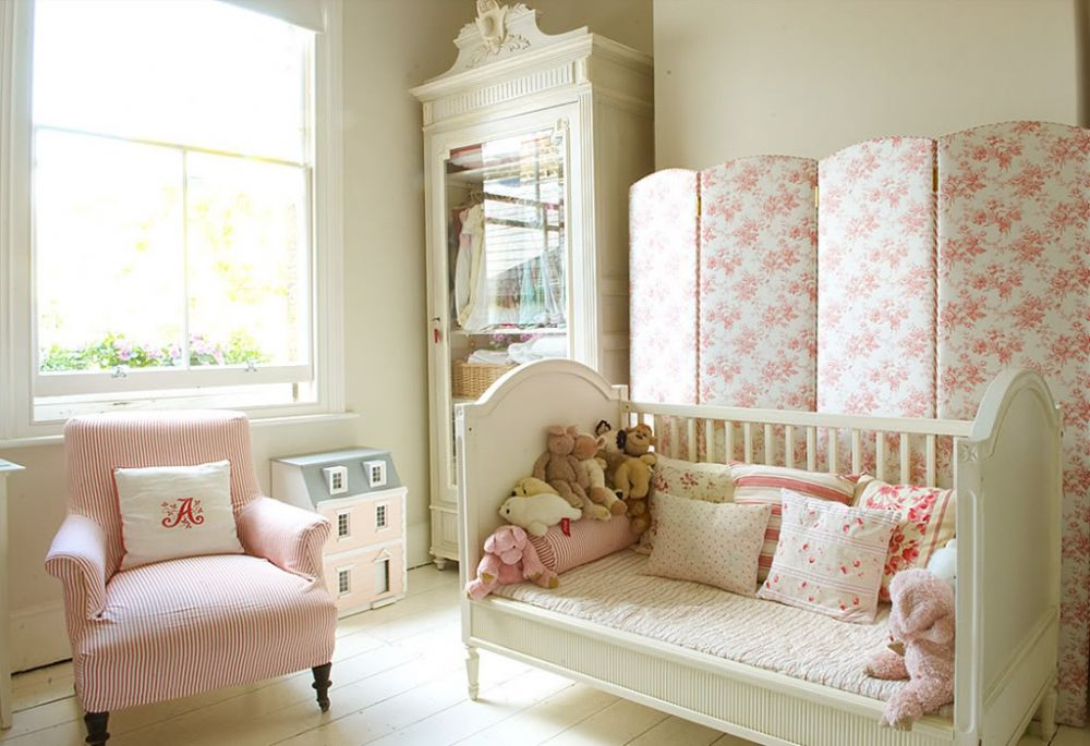 Modern bebek odaları